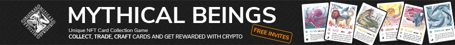 Mythical Beings NFT sale launch cryptocurrency tokens collectible