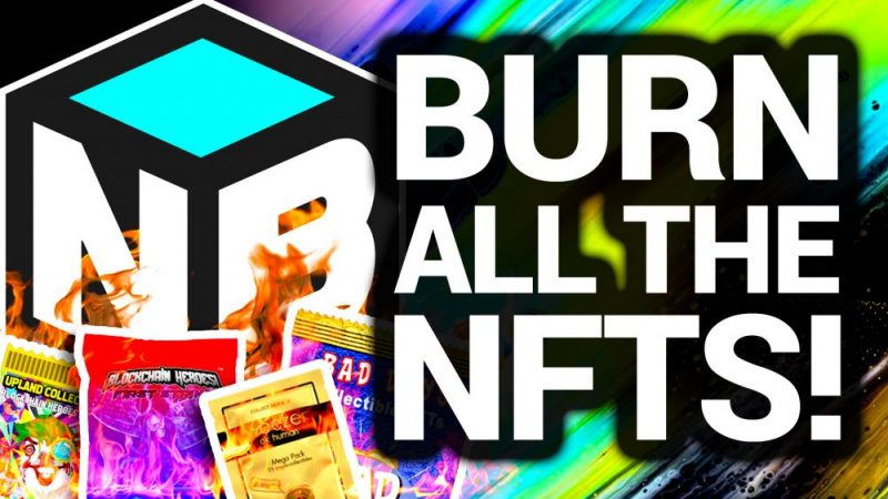 Burn Your NFTs To Create New ones