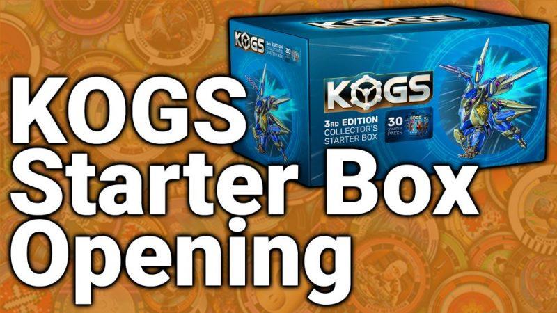 Massive NFT Pack Opening (KOGS 3rd Edition Starter Box)