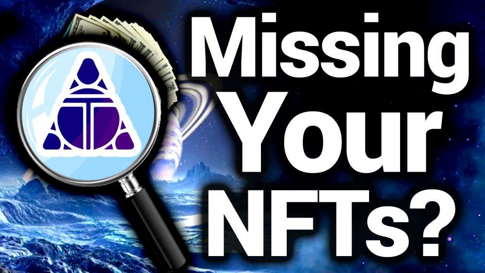 Alien World NFTs Gone Missing