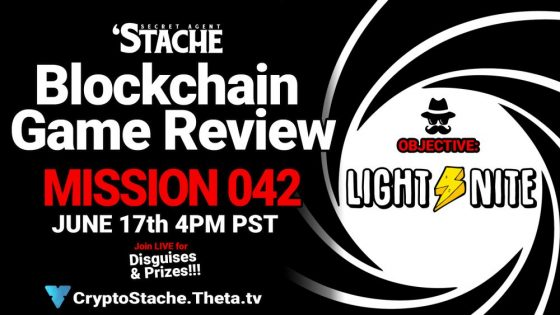 Secret Agent 'Stache – Mission 042: LIGHT⚡️NITE (Earn Bitcoin In This FPS)
