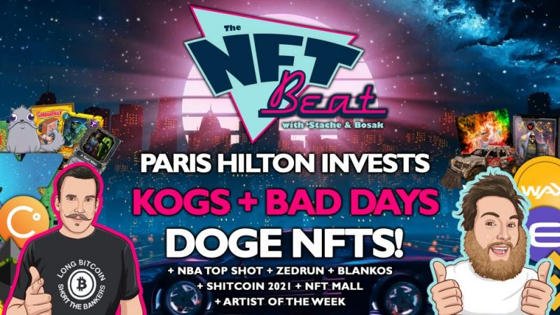 The NFT Beat - Paris Hilton Invests in NFTs, Doge NFTs, KOGS Special Edition, Zed Run Goes Polygon