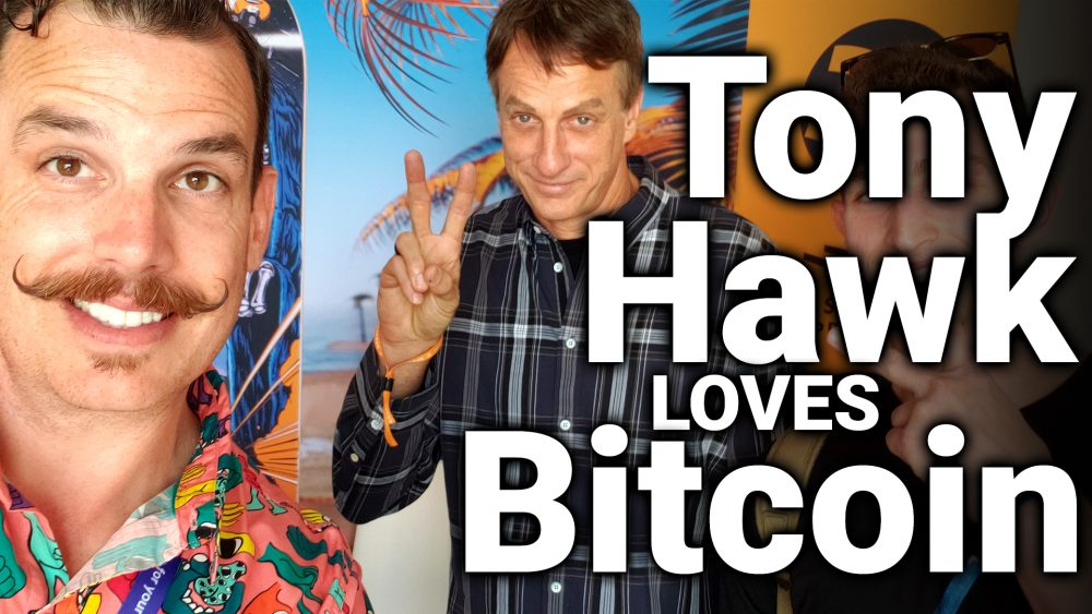 Tony Hawk Invests In Bitcoin & NFTs (Bitcoin 2021 Interview)