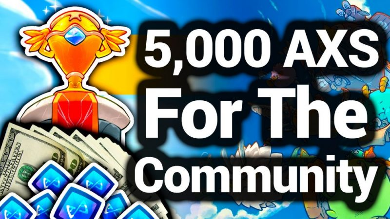How To Win AXS Tokens From Axie Infinity Esports