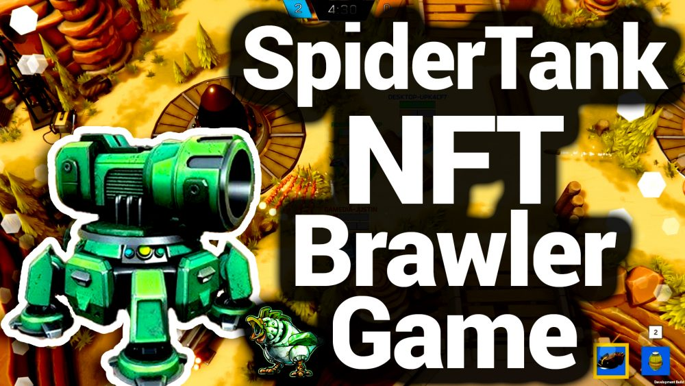 Spider Tank NFT MOBA Finally Revealed