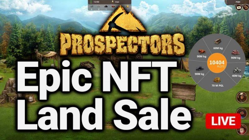 Massive NFT Virtual Land Sale For 5x Gains