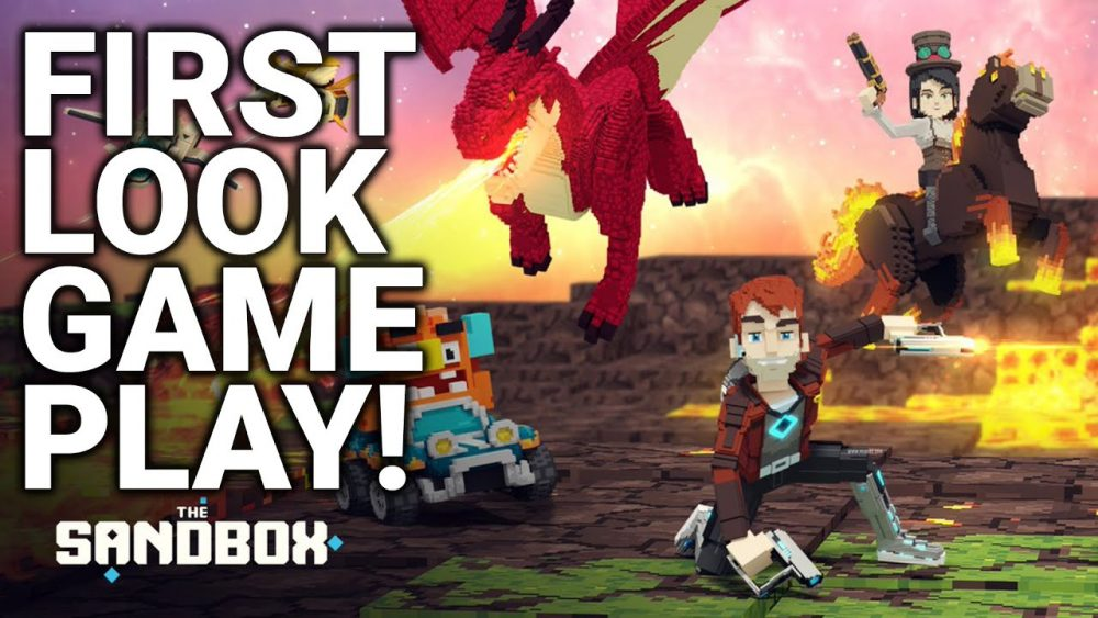 The Sandbox NFT Game Play (EXCLUSIVE FIRST LOOK!)