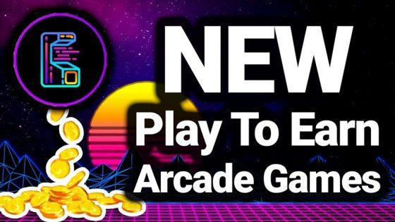 Retro Virtual Arcade Metaverse Play To Earn Games