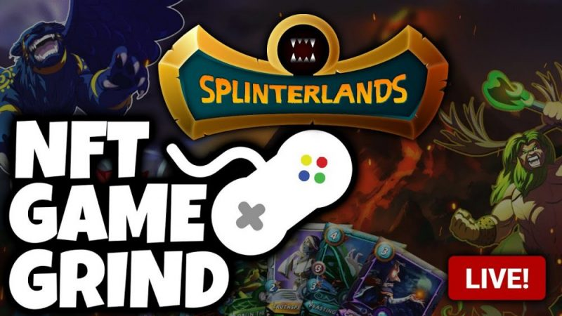 Splinterlands - NFT Game To Earn Passive Crypto Income (NFT GAME GRIND)
