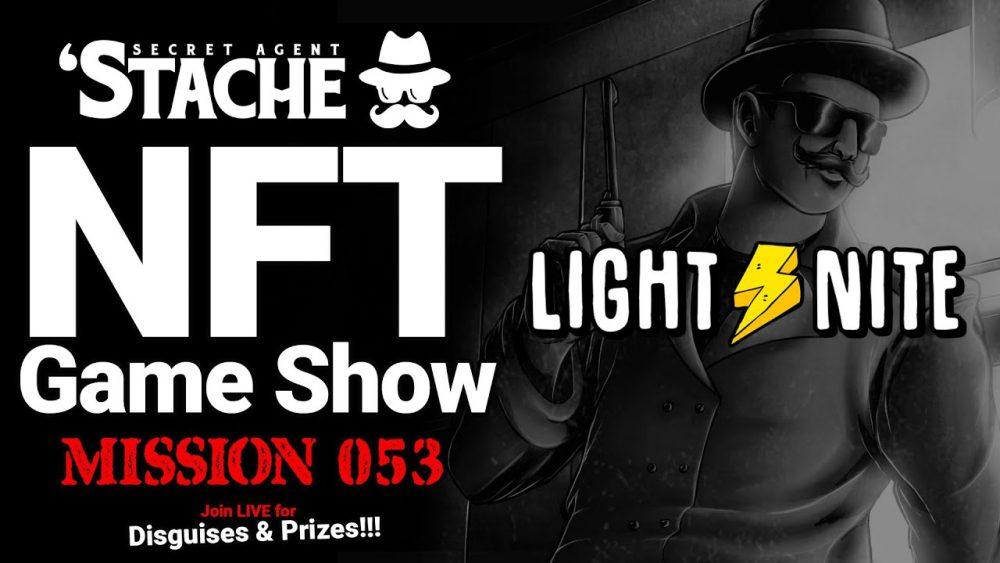 FPS NFT Game LIGHT️NITE Battle Royale (Secret Agent 'Stache)