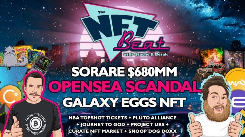 The NFT Beat - Tiktok NFTs, NFL NFTs Coming, NFT Scams, Pancake Squad, Immutable X